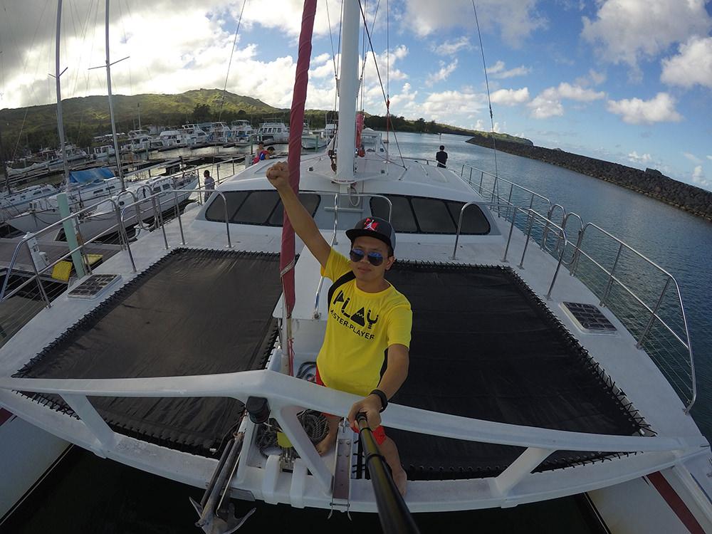 關島》美人魚公主號 – 航向大海  浮潛 釣魚 海豚追蹤