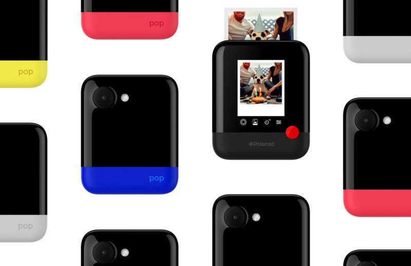 「新機資訊」 Polaroid CES 2017 推出新作 POP 即時列印  Instant Digital Camera