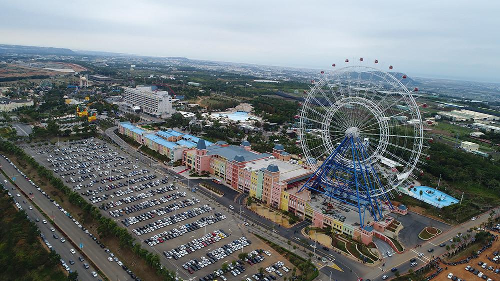 台中》全台最高摩天輪|麗寶樂園 Outlet Mall|天空之夢 SKY DREAM