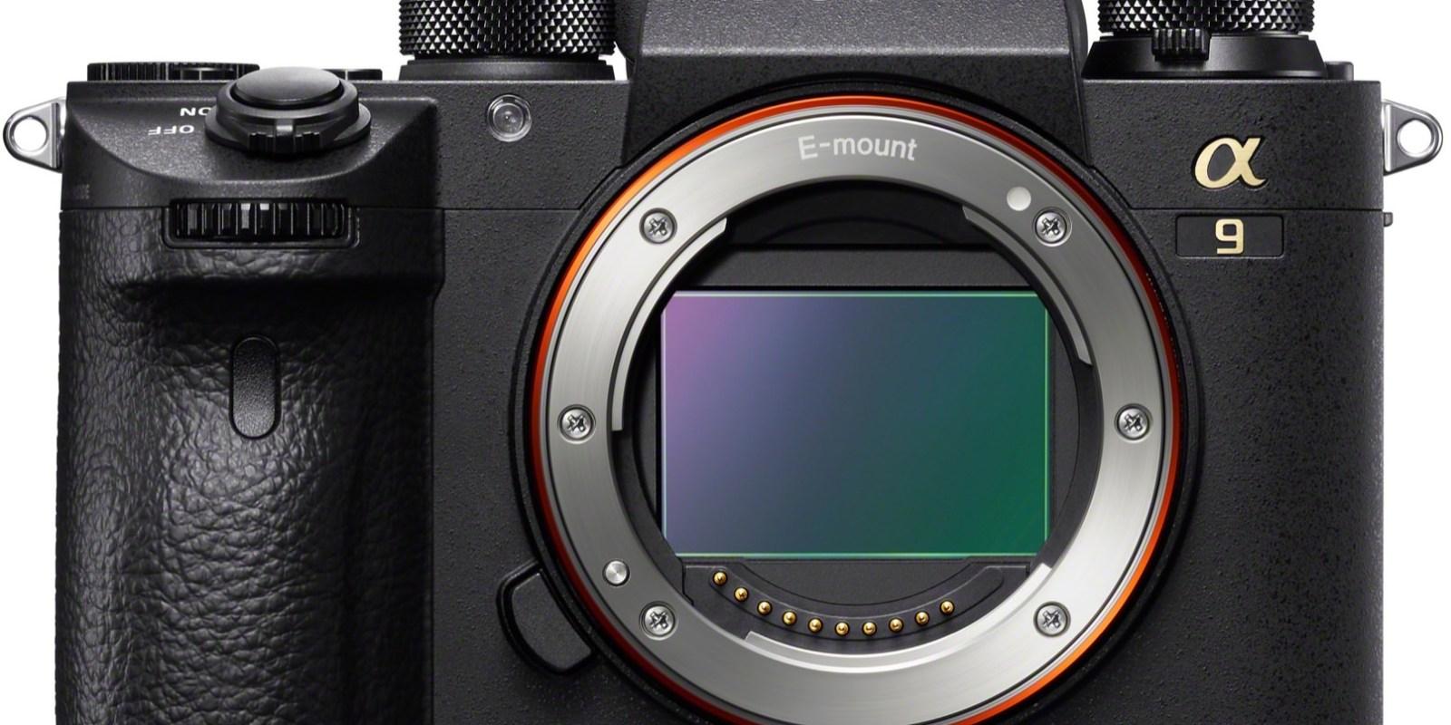 SONY 旗艦機種 A9 主打運動題材 2400萬畫素、693個自動對焦點、每秒20張連拍