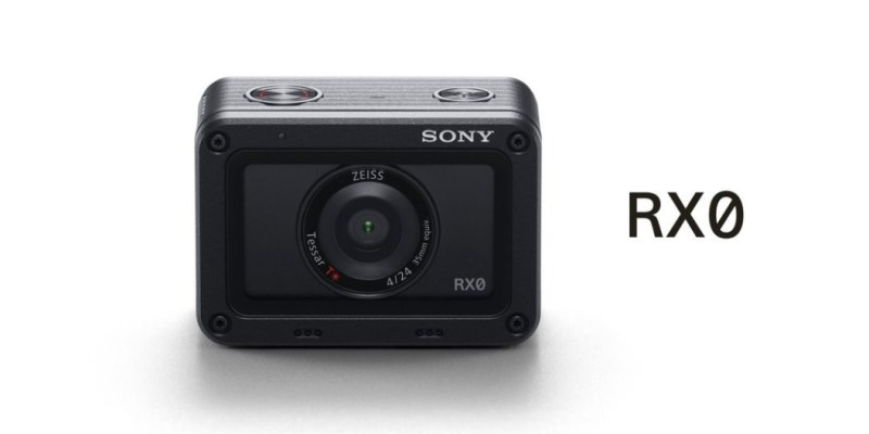 新品資訊》運動相機 SONY  RX0  裸機防水10米、一吋感光元件及16連拍