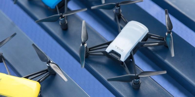 新品資訊》特洛Tello 樂趣無人機  超輕量、多種飛行模式