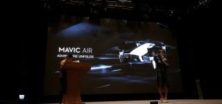 手勢控制更精準 DJI 大疆 Mavic Air 專業便攜空拍機 台灣區發表會