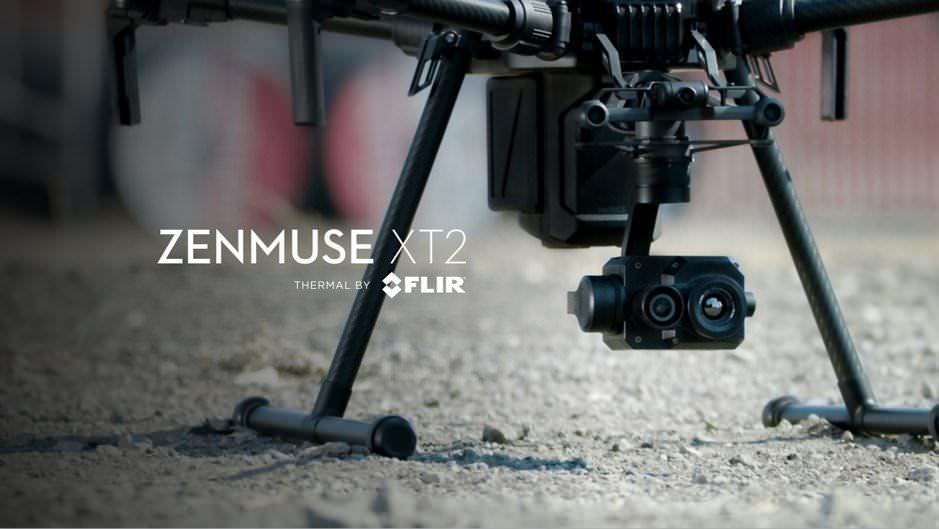 行業無人機領域 DJI Zenmuse XT 2   FLIR 聯合打造下一代行業空拍影像設備