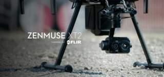 行業無人機領域 DJI Zenmuse XT 2 | FLIR 聯合打造下一代行業空拍影像設備