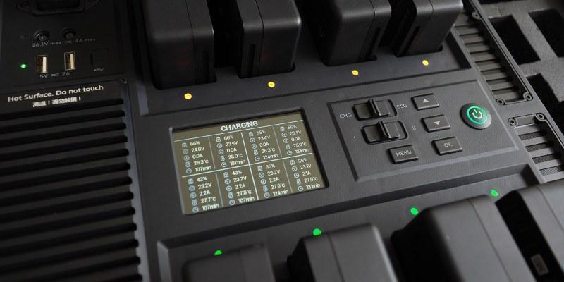 評測》充電好幫手 DJI 電池管理站 BT50專用 - 為影視工作者而設