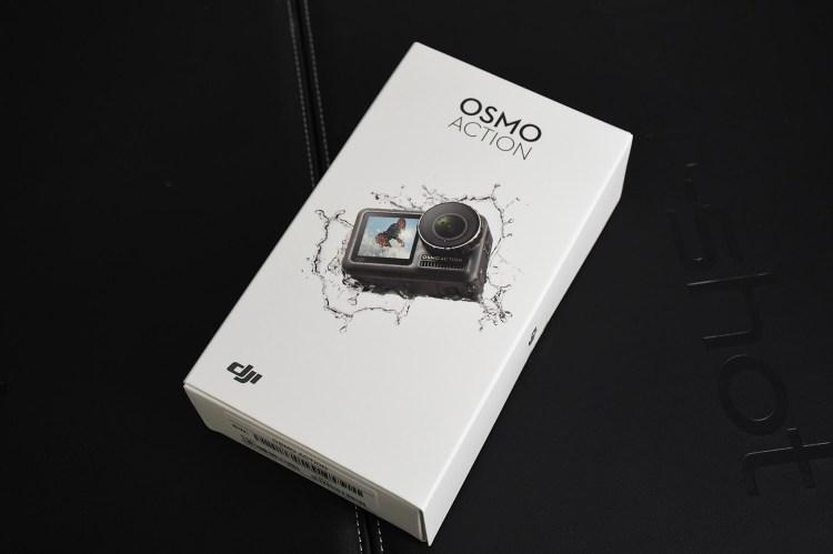 開箱》大疆 DJI OSMO ACTION 運動相機 開箱評測介紹 (上)