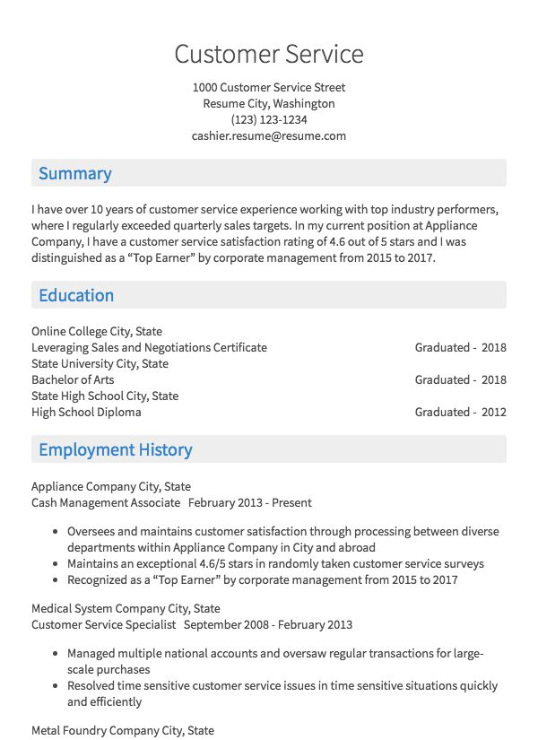 The Resume Place Complaints Easy Resume Builder Free Résumés To Create Download