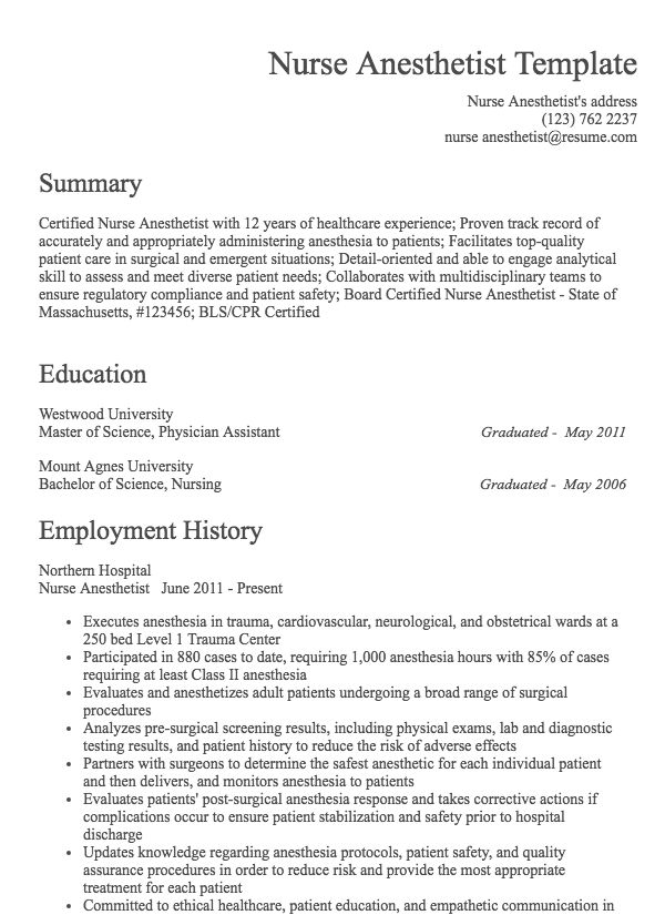 how to build a job resume
