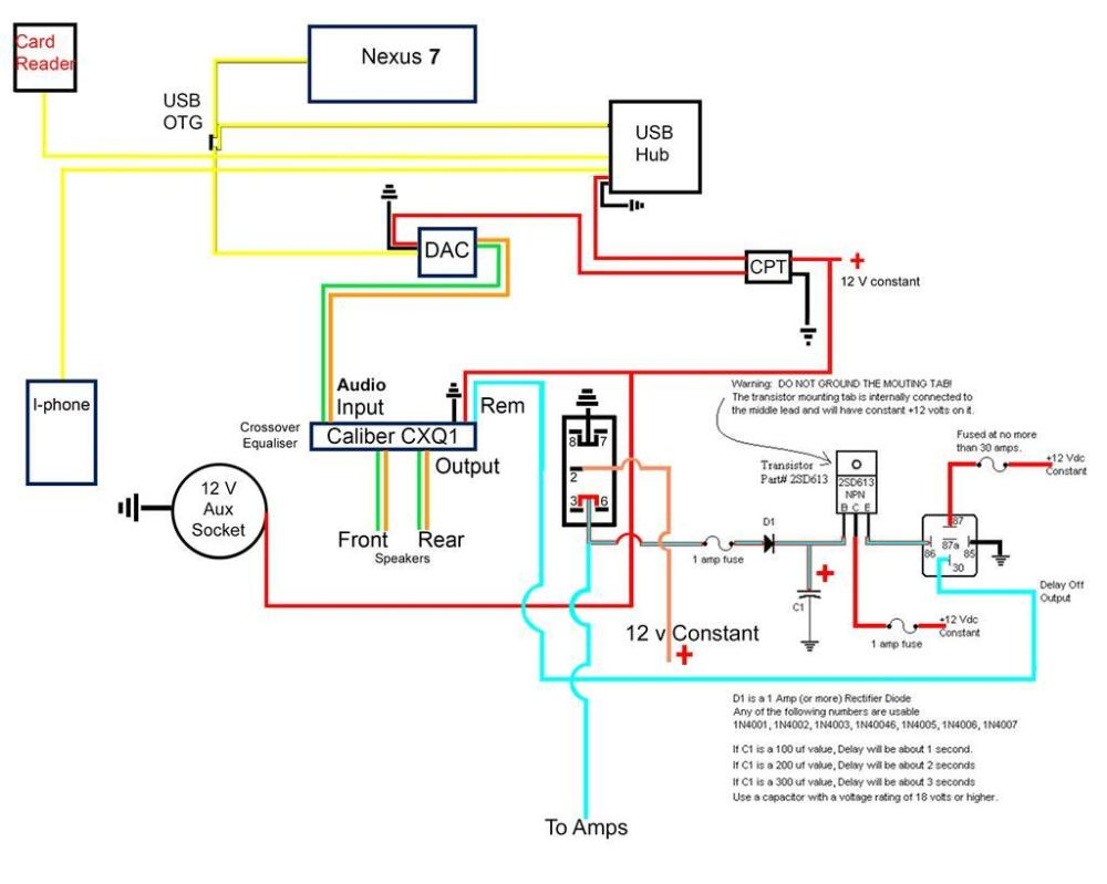 medium resolution of here s the wiring diagram for the alternative head unit i was getting an audible pop