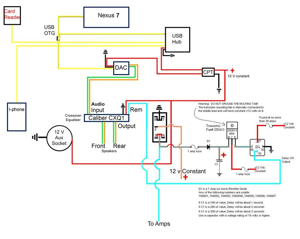 hight resolution of here s the wiring diagram for the alternative head unit i was getting an audible pop