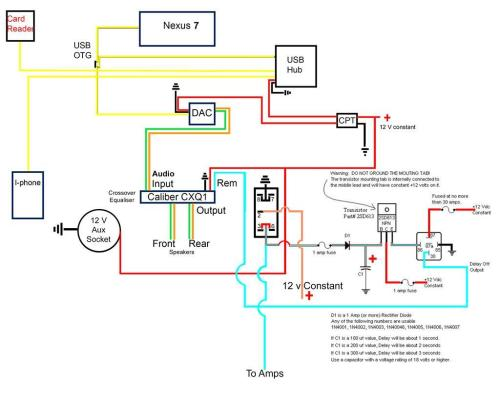small resolution of here s the wiring diagram for the alternative head unit i was getting an audible pop