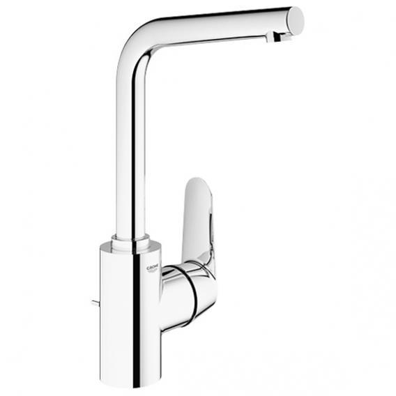 Grohe Eurodisc Cosmopolitan single lever basin mixer. Zero. L size with pop-up waste set - 23054003 | reuter.com