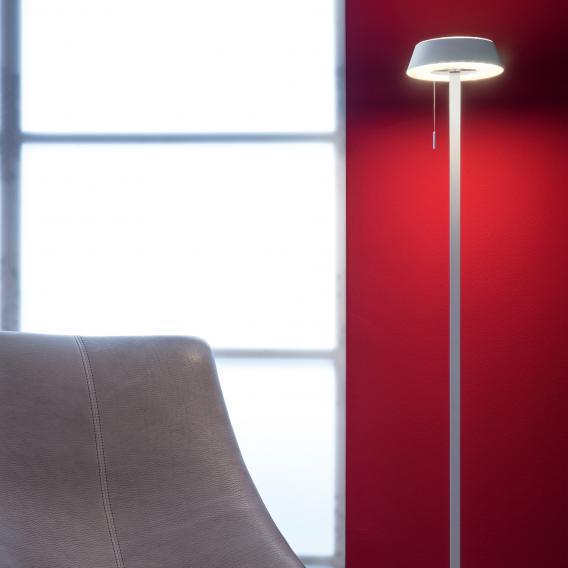 oligo plus glance lampadaire led droit avec variateur