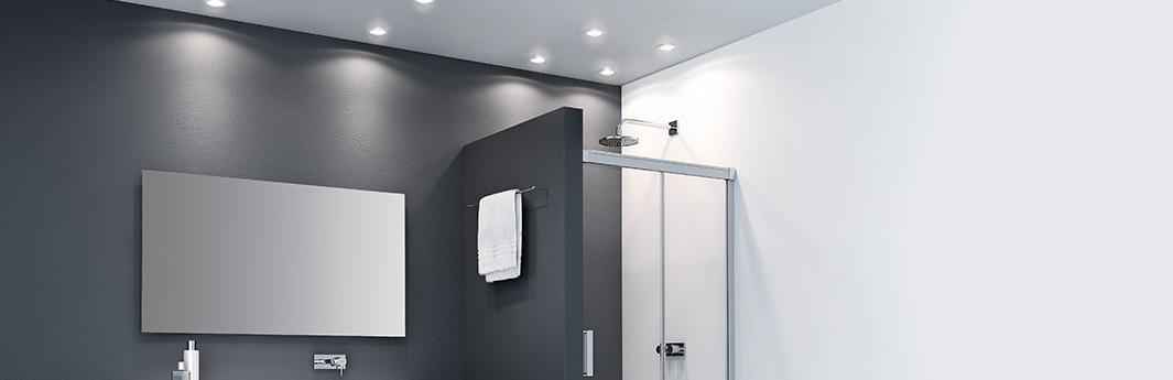 Badezimmer Einbauleuchten