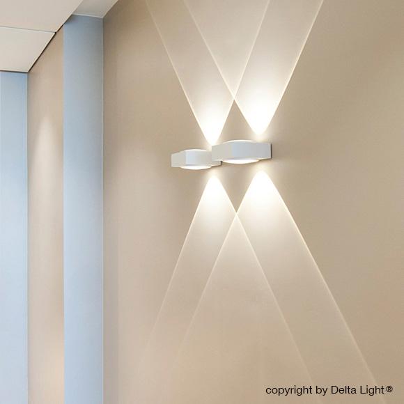 Delta Light Vision Up  Down Wandleuchte  278 25 40 W