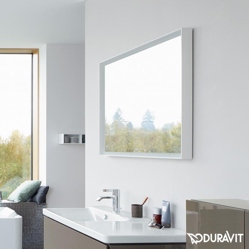 Duravit LCube Spiegel mit LEDBeleuchtung  LC738400000