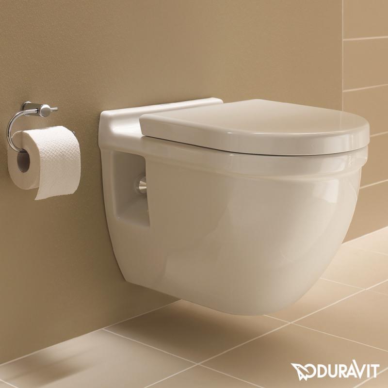 Duravit Starck 3 WandTiefsplWC Set mit SoftClose WC