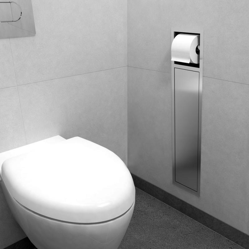 ESS Container ROLL Einbau WC  Brstenhalter und