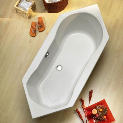 Ottofond Ravenna Sechseck Badewanne ohne Wannentrger  926001  REUTER