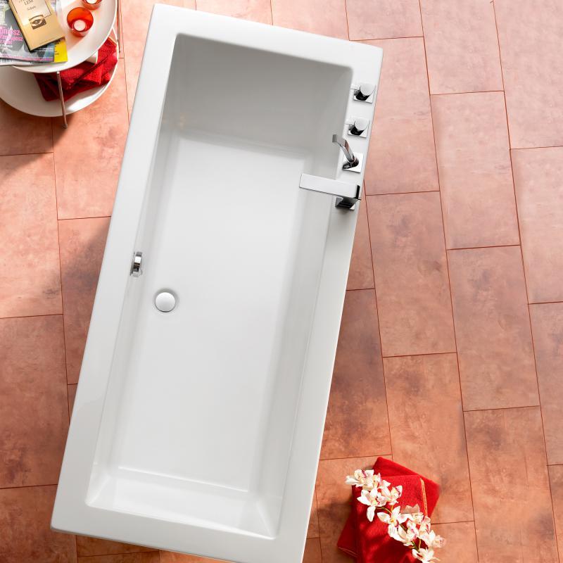 Ottofond Cubic Rechteck Badewanne ohne Wannentrger  863201  REUTER