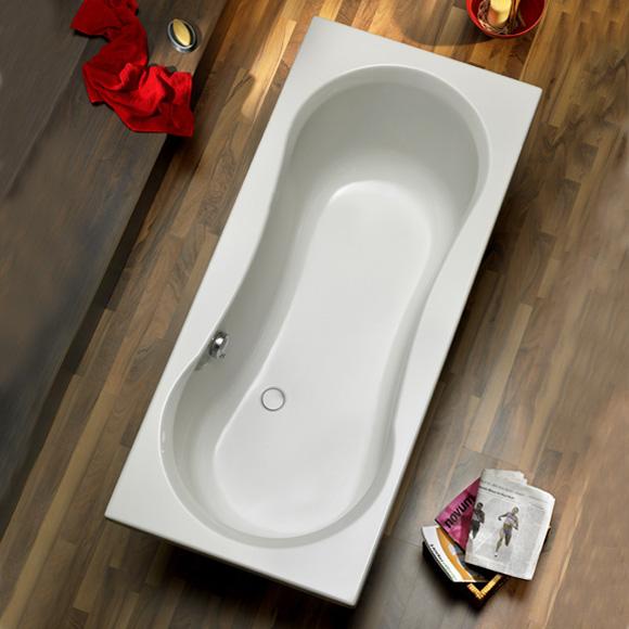Ottofond Delphi Rechteck Badewanne ohne Wannentrger  861301  REUTER