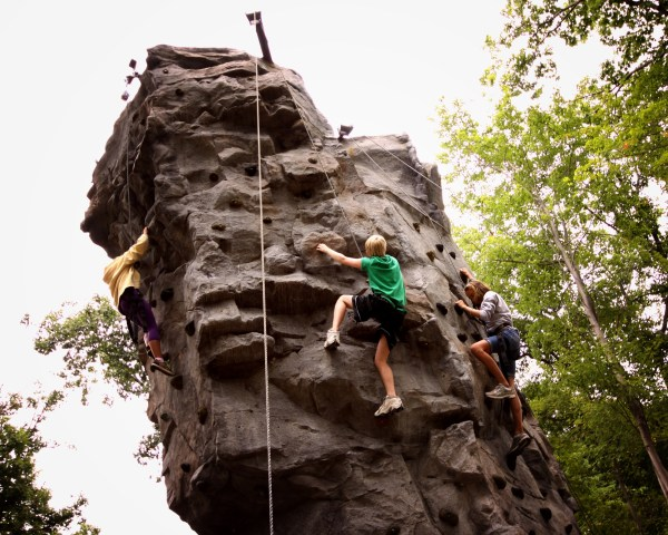 Outdoor Rock Climbing Wall Skytop Lodge - Reservations