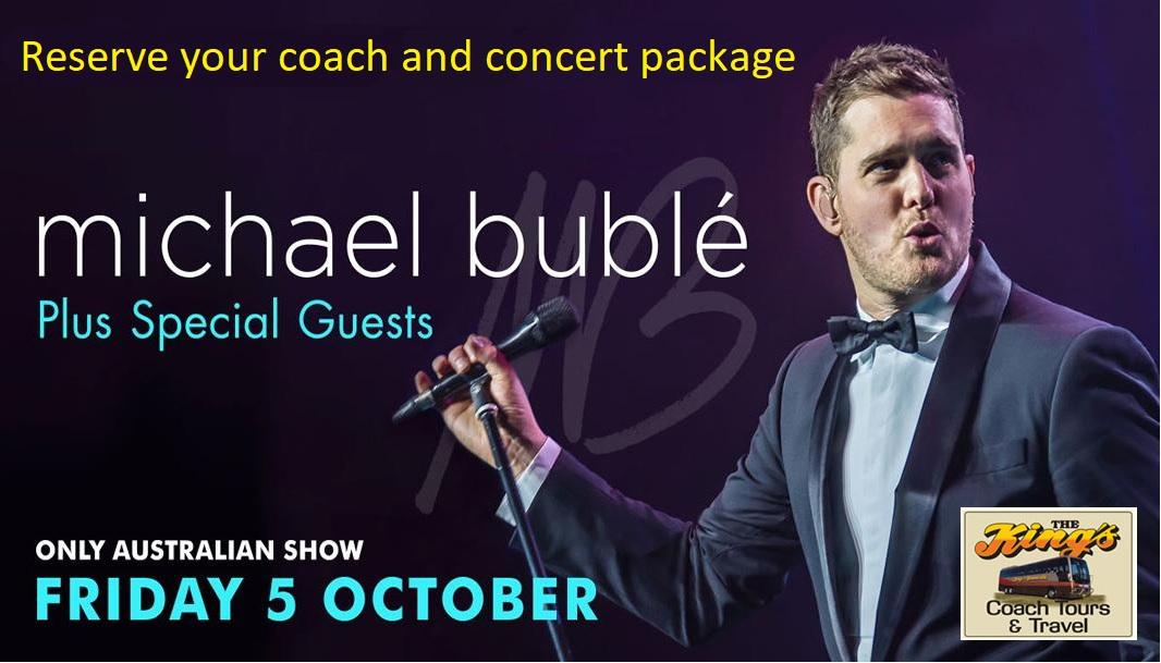 michael buble coach ticket