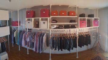 Ikea Stolmen offener Kleiderschrank   Kaufen auf Ricardo