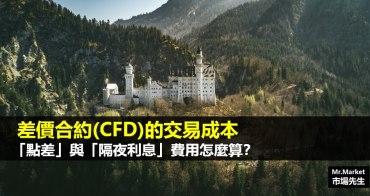 差價合約(CFD)的交易成本》「點差」與「隔夜利息費用」要如何計算?