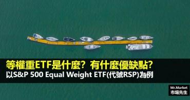 等權重ETF是什麼?有什麼優缺點?以S&P 500 Equal Weight ETF(代號RSP)為例