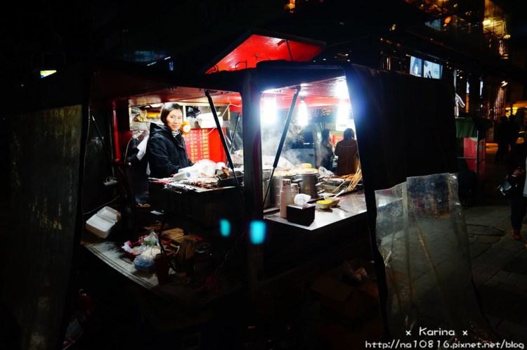 【食記*韓國】 首爾 弘大布帳美食 道地的路邊小吃攤