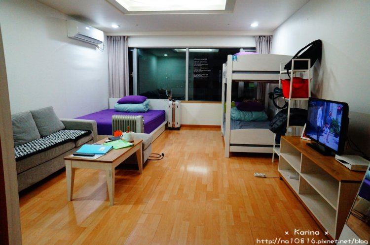 【住宿*韓國】首爾。弘大 一出地鐵就到家的 Hongdae JK House !!