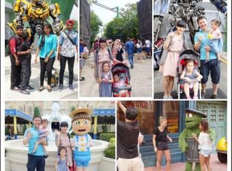 新加坡環球影城 變形金剛、芝麻街、侏儸紀公園!