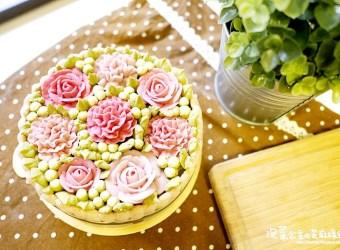 母親節蛋糕推薦 栗子桂花慕斯抹茶蛋糕 凡內莎烘焙工作室