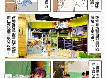 新竹親子飯店 推薦 煙波飯店 湖濱館  卡樂次元星球樂園 500坪室內遊戲室 讓小孩玩到瘋啦!