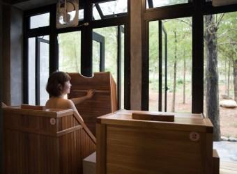 宜蘭的桃花源 逢春園渡假別墅 太平山上的桃花源 來洗滌身心靈吧