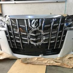 All New Alphard Facelift Foto Grand Avanza 2017 Toyota 2018 Conversion Nfl Car Accessories Shop Safely Tip