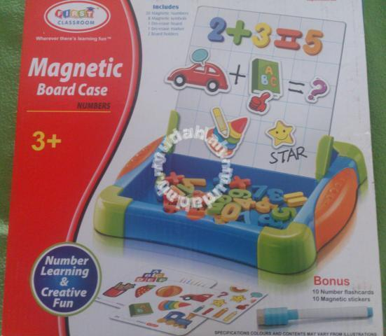 first classroom magnetic board