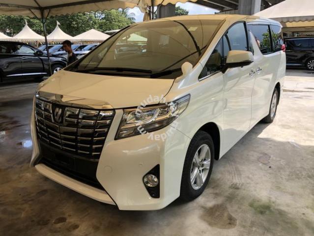 all new alphard 2.5 x spoiler grand avanza 2016 toyota 2 5 8seather 360view p boot cars for sale in cheras kuala lumpur