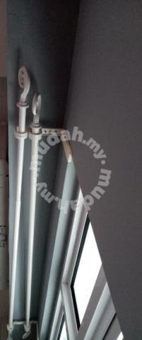 ikea double curtain rod 102 171 55 702 198 92 furniture decoration for sale in greenlane penang mudah my