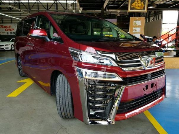 all new toyota vellfire 2018 alphard indonesia facelift conversion front kit car accessories shop safely tip
