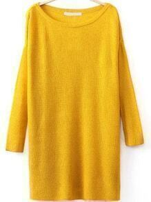 jersey cuello redondo-amarillo
