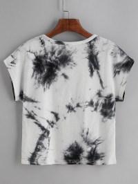 Color Block Tie Dye T-shirt