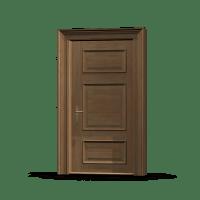 Wooden Door & China Medang Interior Door Wooden Door Solid ...
