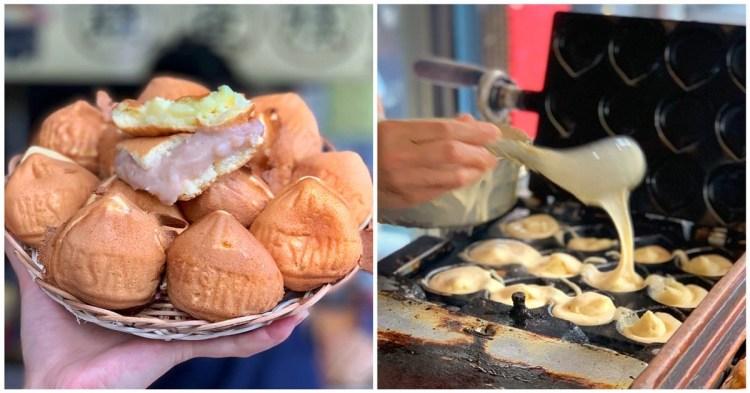 台南美食-正老牌雞蛋糕 古早味爆漿雞蛋糕