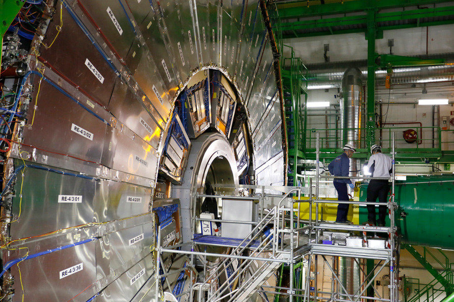 Schematic Diagram Of The Particle Accelerator Complex At Cern The