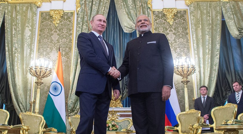 Image result for India, Russia strategic partnership important for international security, stability: Putin