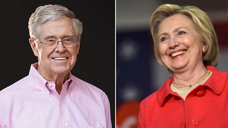 'It's possible': Koch might back Clinton, while Sanders laments 'poor people don't vote'