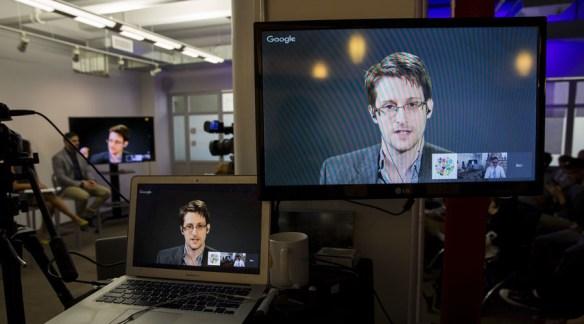 American whistleblower Edward Snowden © Andrew Kelly
